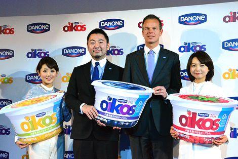 ダノンジャパン 新ブランド『オイコス』発表会にてトークショー登壇