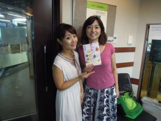 8月5日放送『TOKYO FM住吉美紀さんの『Blue Ocean』にゲスト出演致しました。