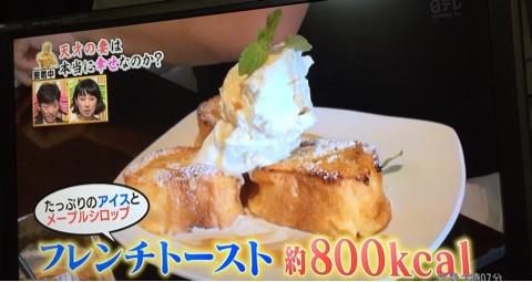 2016年10月17日日本テレビ系列「人生が変わる1分間の深イイ話」栄養価監修致しました。