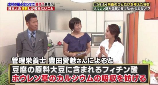 8月23日放送テレビ朝日『日本人の3割しか知らないこと くりぃむしちゅーのハナタカ!優越館』に管理栄養士/美容アドバイザーとして出演しました。