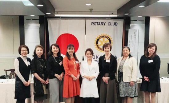 横浜鶴見北ロータリークラブにて登壇させていただきました。