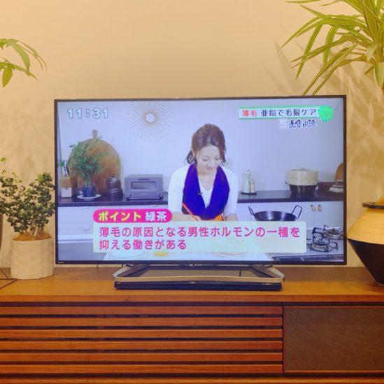 12月15日放送のテレビ西日本『土曜NEWSファイルCUBE』レギュラー新コーナー医食同源、出演